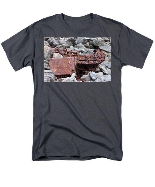 Steam Shovel Number One Men's T-Shirt  (Regular Fit) by Kandy Hurley