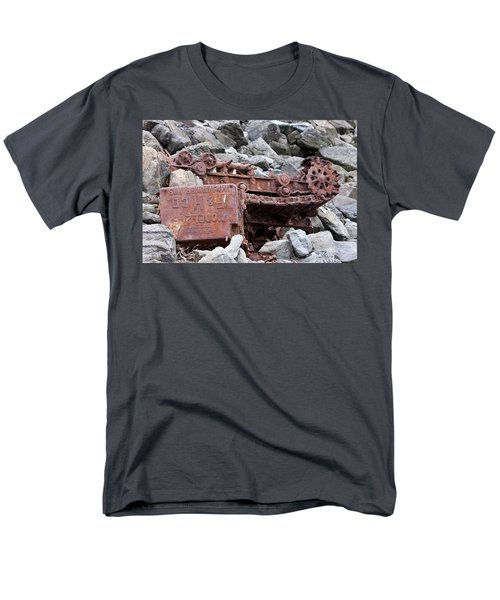 Steam Shovel Number One Men's T-Shirt  (Regular Fit)