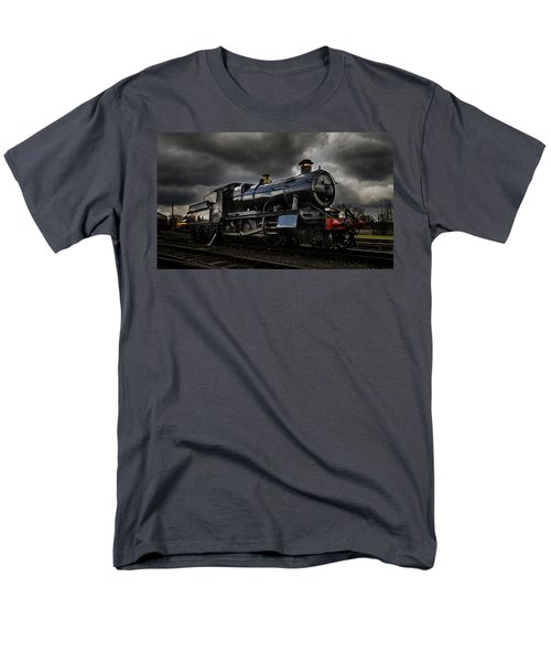 Steam Train Men's T-Shirt  (Regular Fit) by Ken Brannen