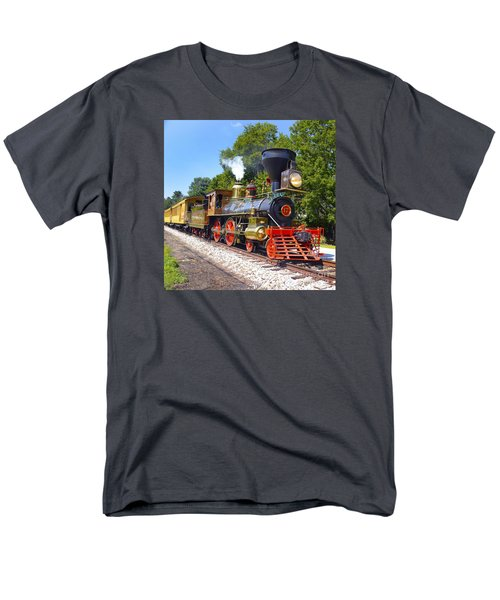 Steaming Into History Men's T-Shirt  (Regular Fit) by Paul W Faust -  Impressions of Light