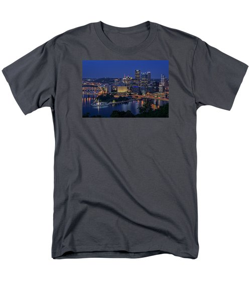 Steel City Glow Men's T-Shirt  (Regular Fit)