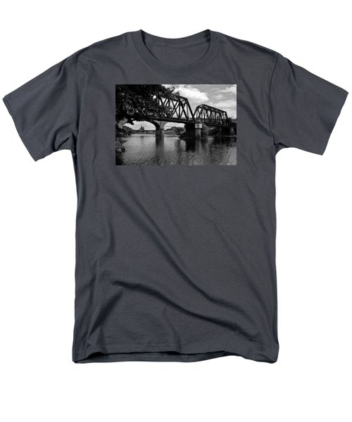 Men's T-Shirt  (Regular Fit) featuring the photograph Steel City by Michael Dorn