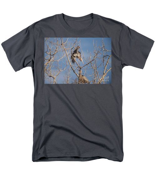 Men's T-Shirt  (Regular Fit) featuring the photograph Stick Acceptance by David Bearden