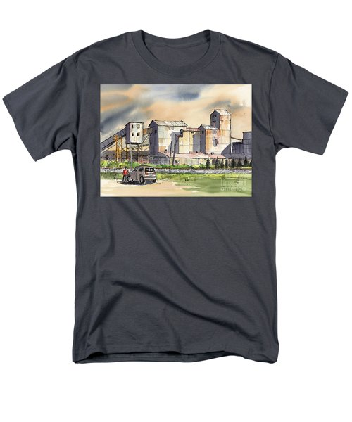 Men's T-Shirt  (Regular Fit) featuring the painting Still In Business by Terry Banderas