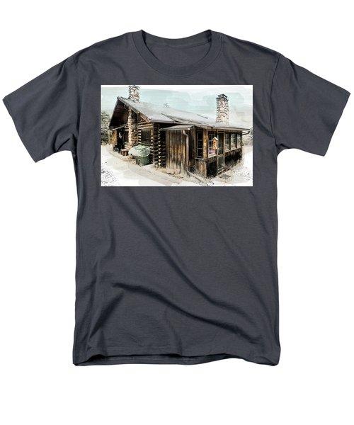 Still Livable Men's T-Shirt  (Regular Fit) by Deborah Nakano