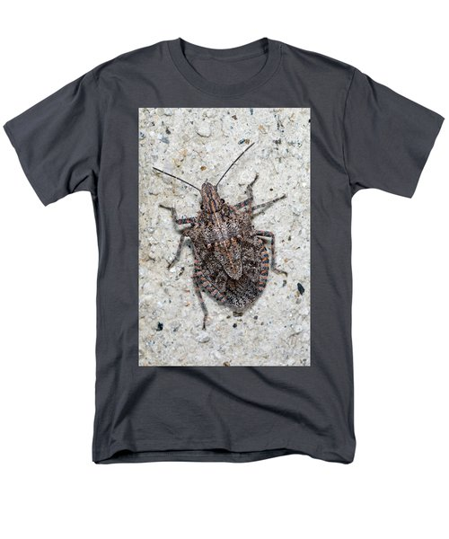 Men's T-Shirt  (Regular Fit) featuring the photograph Stink Bug by Breck Bartholomew