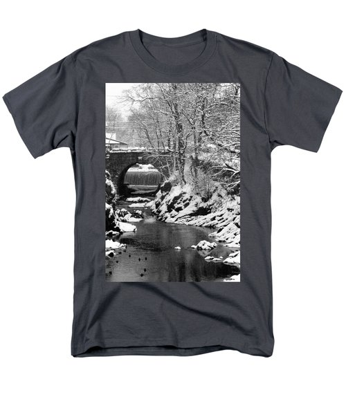 Stone-bridge Men's T-Shirt  (Regular Fit) by John Scates