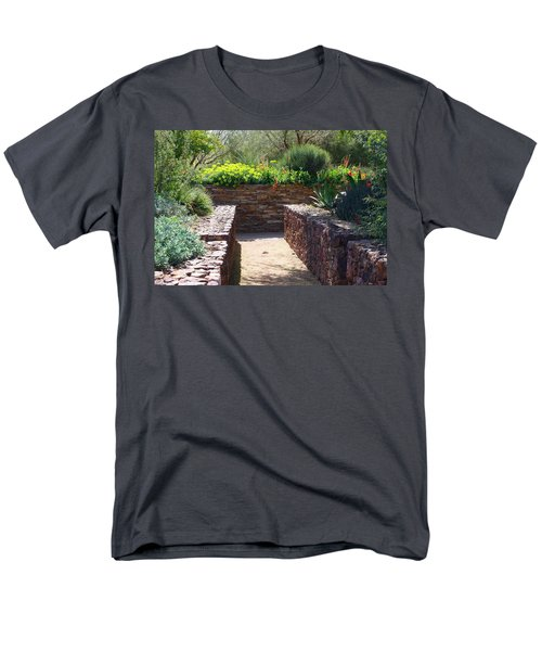Stone Walkway Men's T-Shirt  (Regular Fit) by Kathryn Meyer