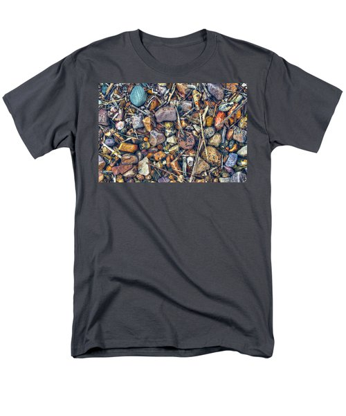 Men's T-Shirt  (Regular Fit) featuring the photograph Dry Creek by Wayne Sherriff