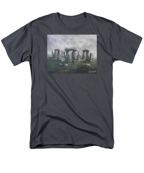 Men's T-Shirt  (Regular Fit) featuring the painting Stones Of Time  by Megan Walsh