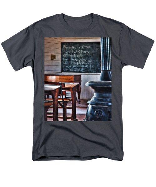 Stoney Point School Room Men's T-Shirt  (Regular Fit) by Lana Trussell