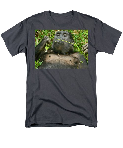 Stop And Smell The Grass Men's T-Shirt  (Regular Fit) by Emmy Marie Vickers
