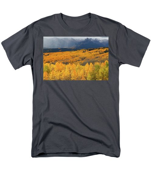 Storm At Ohio Pass During Autumn Men's T-Shirt  (Regular Fit) by Jetson Nguyen