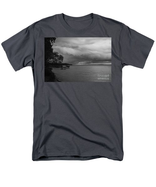 Men's T-Shirt  (Regular Fit) featuring the photograph Storm Clouds by William Norton