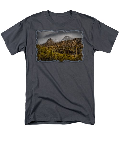 Storm Over Catalinas 15 Men's T-Shirt  (Regular Fit) by Mark Myhaver