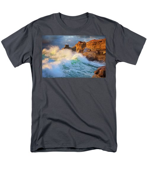 Men's T-Shirt  (Regular Fit) featuring the photograph Storm Watchers by Darren White