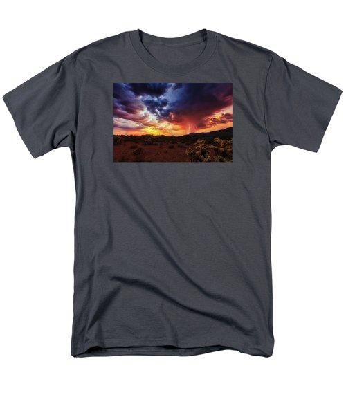Stormy Twilight Men's T-Shirt  (Regular Fit)