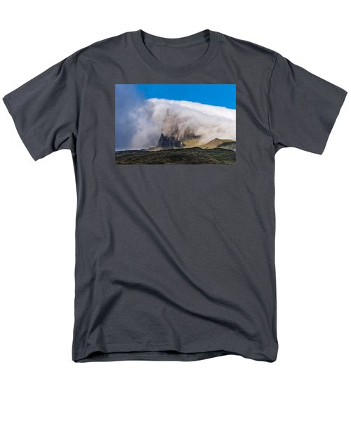 Men's T-Shirt  (Regular Fit) featuring the photograph Storr In Cloud by Gary Eason