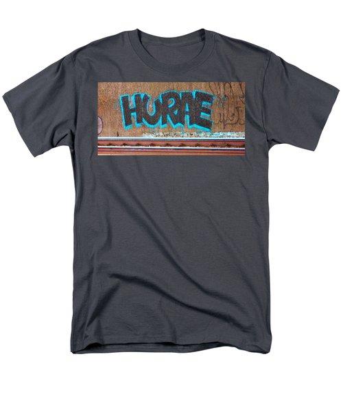 Street Graffiti-hooray Men's T-Shirt  (Regular Fit) by Martin Cline