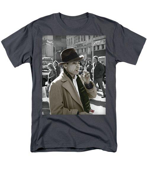 Street Smoking Man Men's T-Shirt  (Regular Fit) by Martin Konopacki