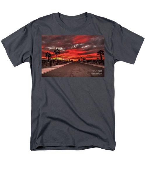 Street Sunset Men's T-Shirt  (Regular Fit) by Robert Bales
