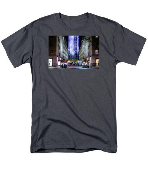 Rockefeller Center Men's T-Shirt  (Regular Fit)
