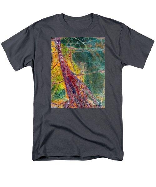 Men's T-Shirt  (Regular Fit) featuring the painting Strength  by Haleh Mahbod