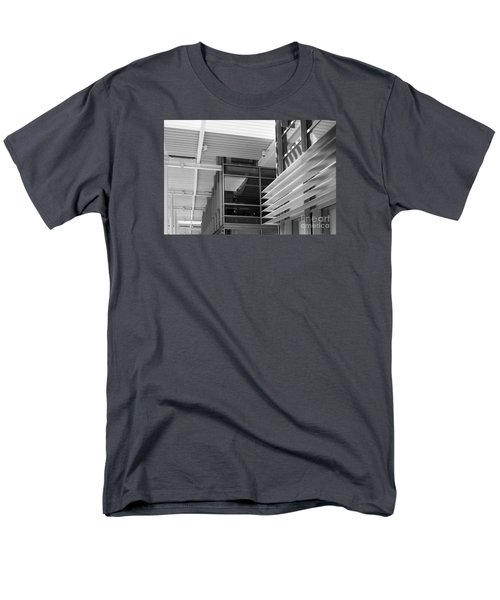 Men's T-Shirt  (Regular Fit) featuring the photograph Structure Abstract 1 by Cheryl Del Toro