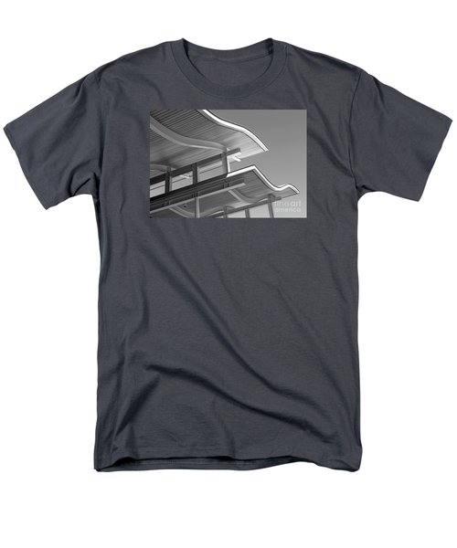 Men's T-Shirt  (Regular Fit) featuring the photograph Structure Abstract 7 by Cheryl Del Toro