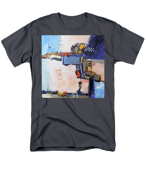 Men's T-Shirt  (Regular Fit) featuring the painting Structured by Ron Stephens