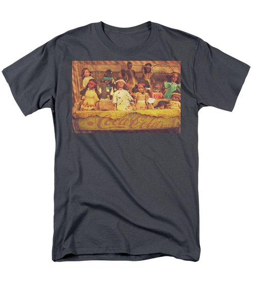 Men's T-Shirt  (Regular Fit) featuring the photograph Stuck In This Box With Nothing To Drink by Toni Hopper