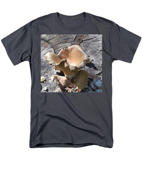 Men's T-Shirt  (Regular Fit) featuring the photograph Stump Mushroom I by R  Allen Swezey