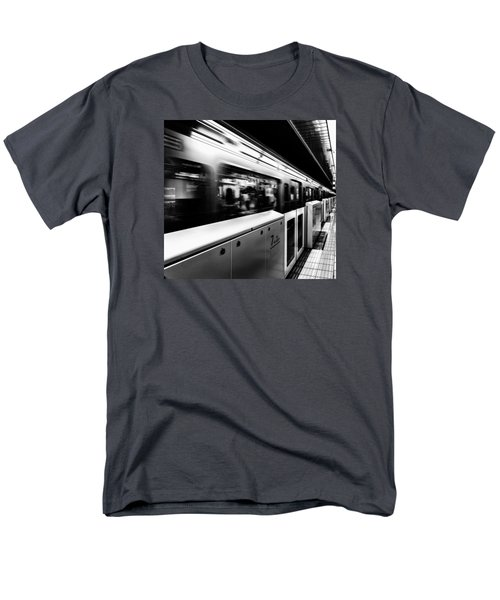 Men's T-Shirt  (Regular Fit) featuring the photograph Subway by Hayato Matsumoto