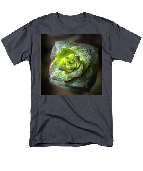 Succulent Plant Men's T-Shirt  (Regular Fit) by Catherine Lau