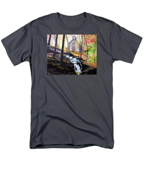 Men's T-Shirt  (Regular Fit) featuring the painting Sugar Shack by Tom Riggs
