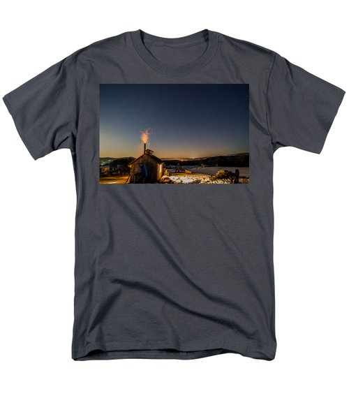 Sugaring View With Stars Men's T-Shirt  (Regular Fit) by Tim Kirchoff