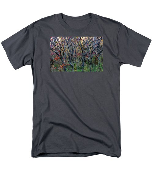 Men's T-Shirt  (Regular Fit) featuring the photograph Sumac Grove by Steven Clipperton