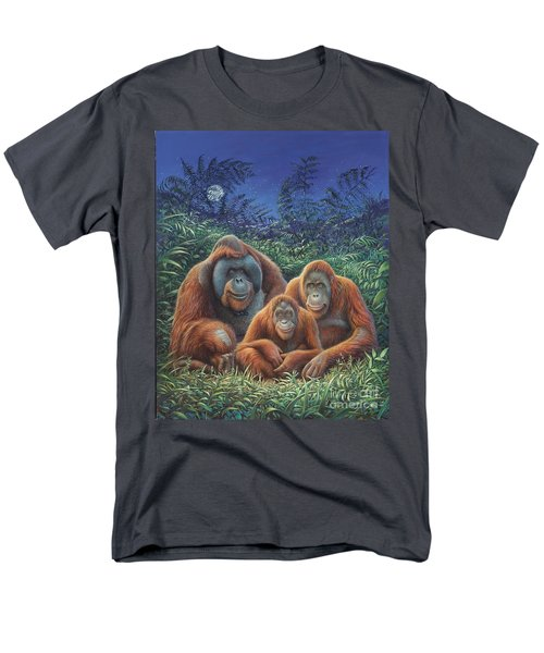 Sumatra Orangutans Men's T-Shirt  (Regular Fit) by Hans Droog