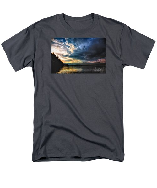 Summer At Lake James Men's T-Shirt  (Regular Fit) by Robert Loe