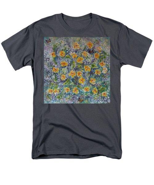 Spring Bouquet Men's T-Shirt  (Regular Fit)