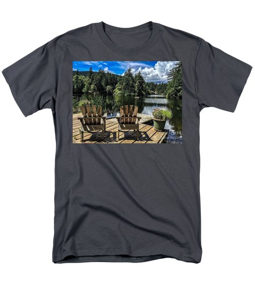 Men's T-Shirt  (Regular Fit) featuring the photograph Summer By Eagle Lake by William Wyckoff