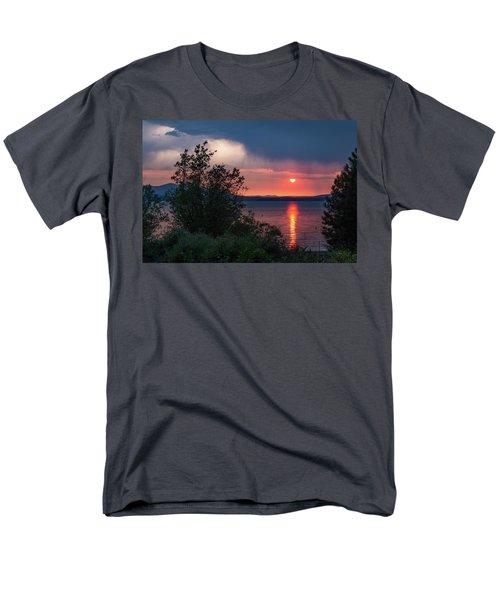 Summer Storm Men's T-Shirt  (Regular Fit) by Jan Davies