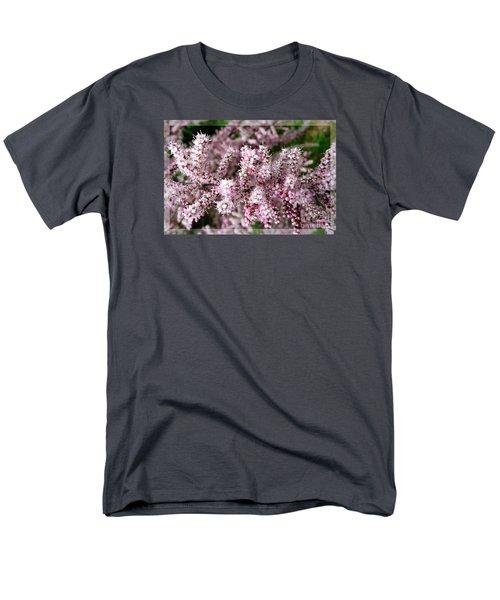 Men's T-Shirt  (Regular Fit) featuring the photograph Summer Tamarisk by Jean Bernard Roussilhe