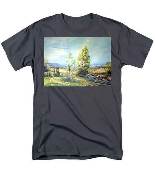 Summer Time Men's T-Shirt  (Regular Fit) by Dorothy Maier
