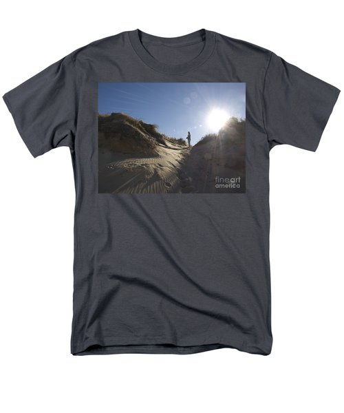 Men's T-Shirt  (Regular Fit) featuring the photograph Sun And Sand  by Tara Lynn