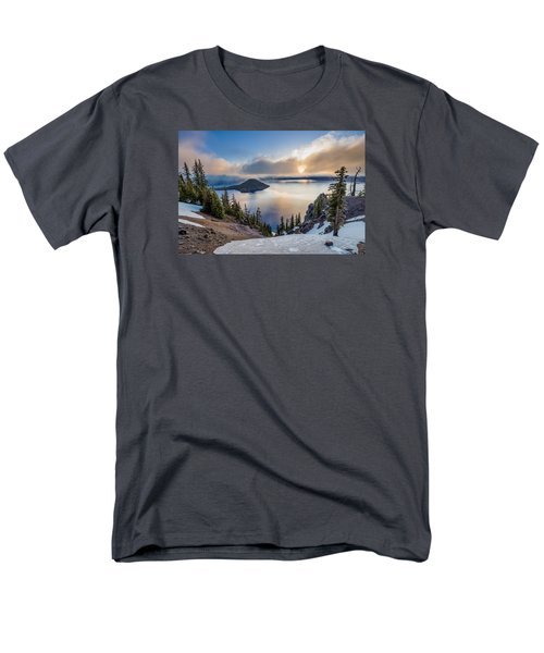 Sun Rising Through Mists Men's T-Shirt  (Regular Fit) by Greg Nyquist