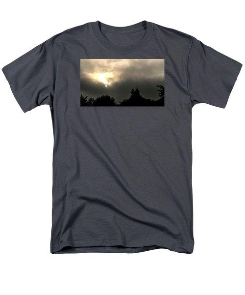 Men's T-Shirt  (Regular Fit) featuring the photograph Sun Through Fog by Carlee Ojeda