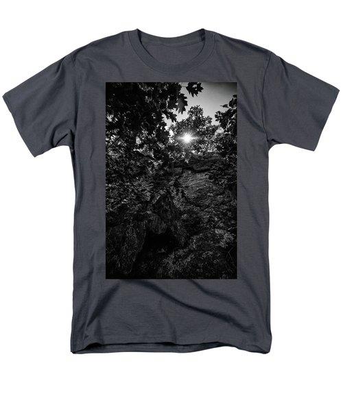 Sun Through The Trees Men's T-Shirt  (Regular Fit) by Paul Seymour