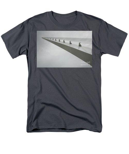 Sundial Perspective Men's T-Shirt  (Regular Fit) by Carol Lynn Coronios