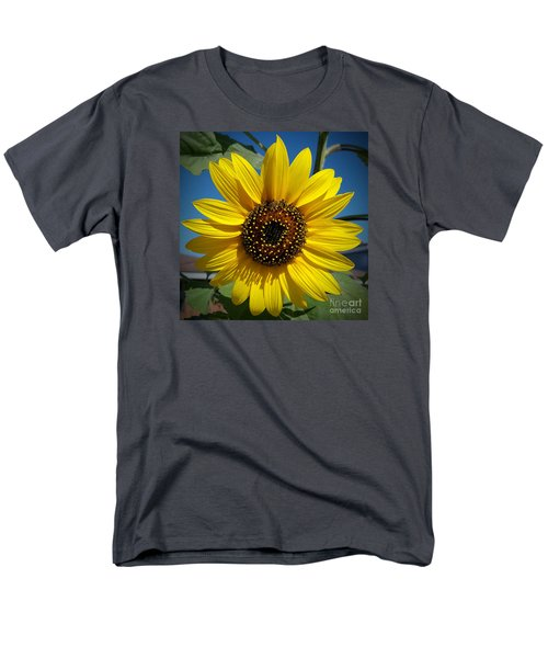 Sunflower Glow Men's T-Shirt  (Regular Fit) by Loriannah Hespe